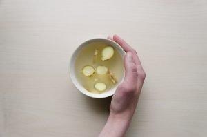 Ginger tea mug