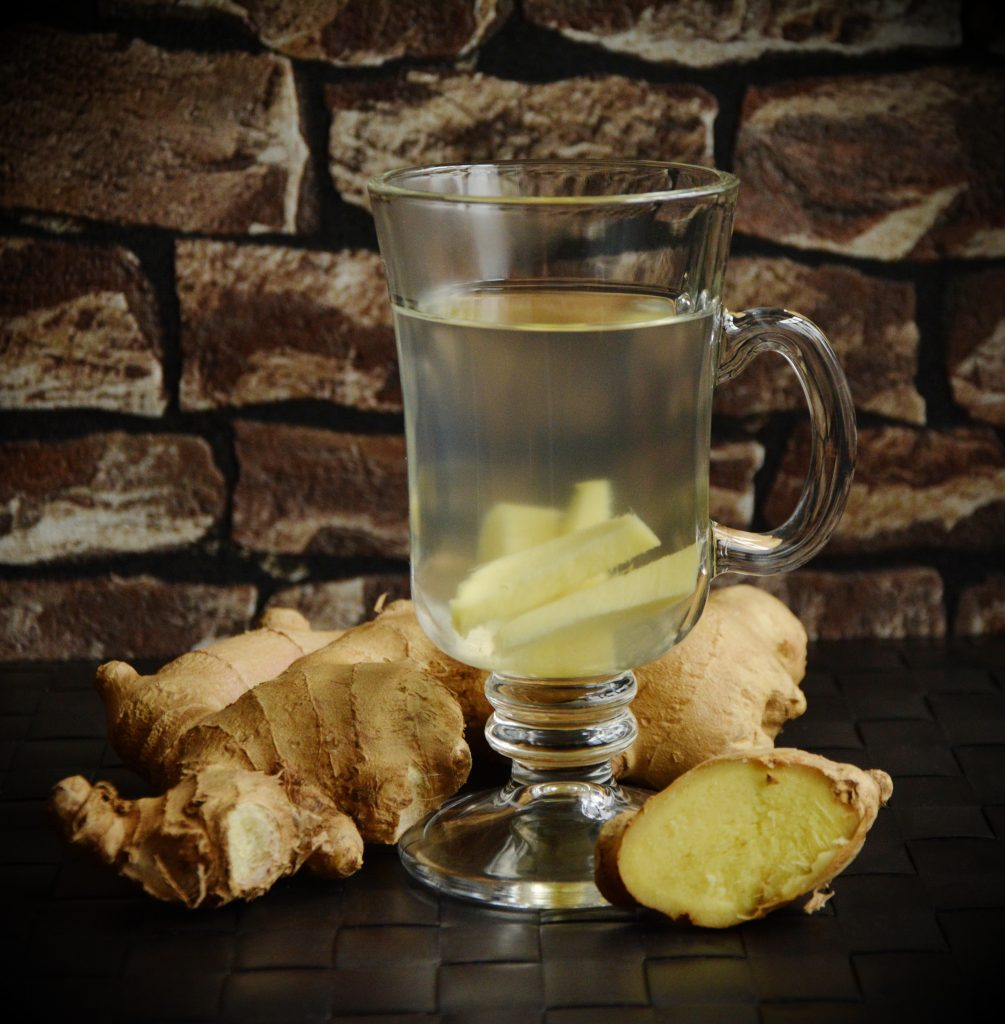 Ginger root tea - a great remedy when Stomach Qi Rebels!