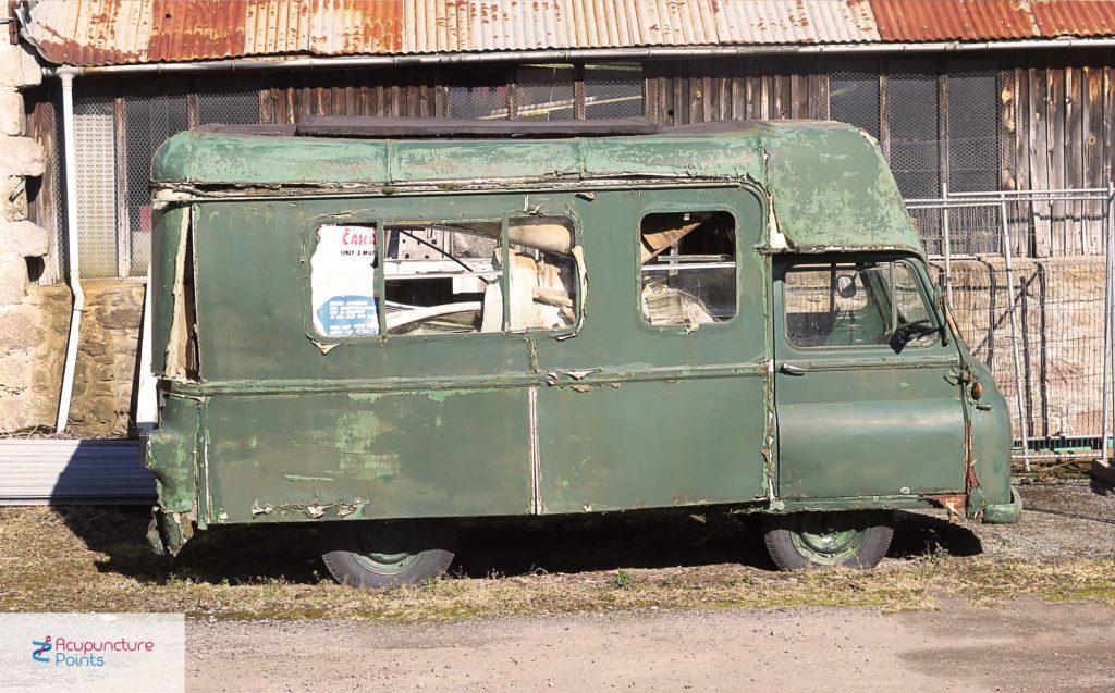 Battered Van
