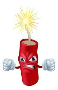 Fire cracker - what Liver Fire feels like