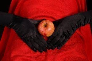 Apple on Abdomen
