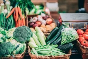 Vegetables: Blood Clearing foods