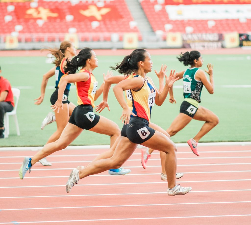 Running on Track: compettitive sports heal gallbladder deficiency