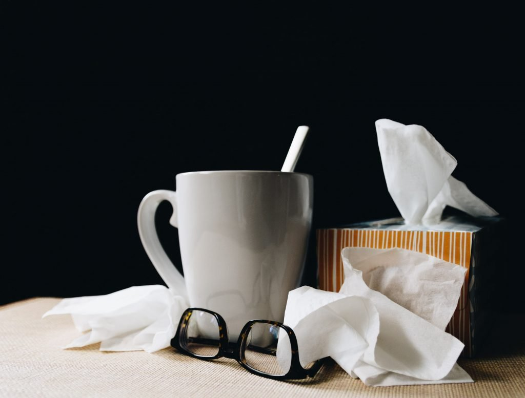 Tissues for Lung Damp Phlegm