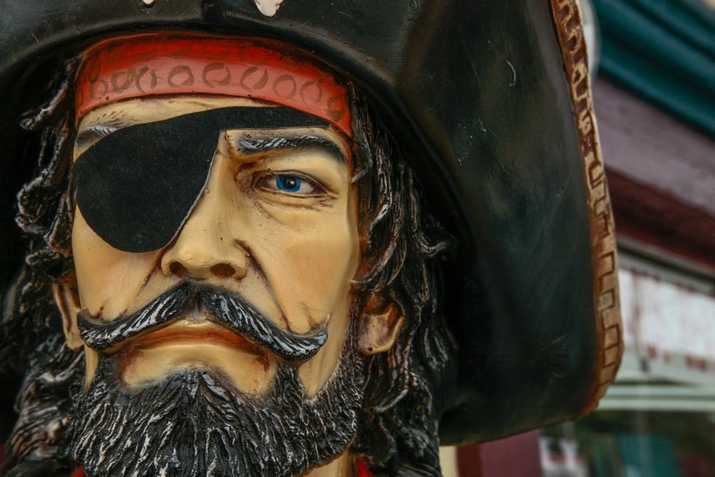 British Pirate: known for their gall!