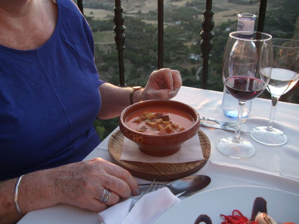 Gaspacho soup a great vegetable recipe for summer