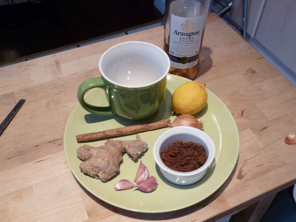 Hot toddy for Wind-Cold invasion