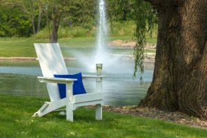 Water sprinkler for dryness