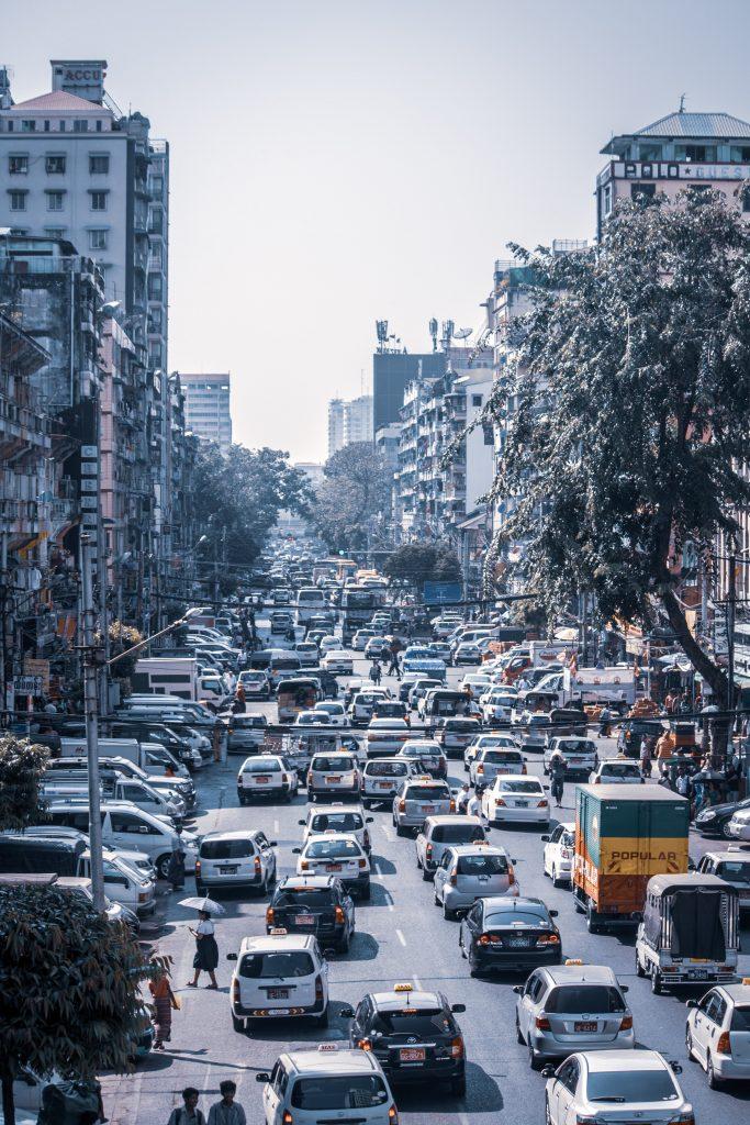 Traffic jam, like Liver Blood stasis