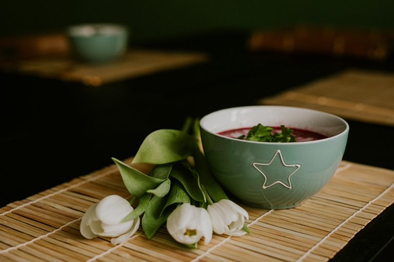 Beetroot soup - borscht