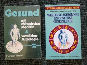 western astrology and chinese medicine book covers