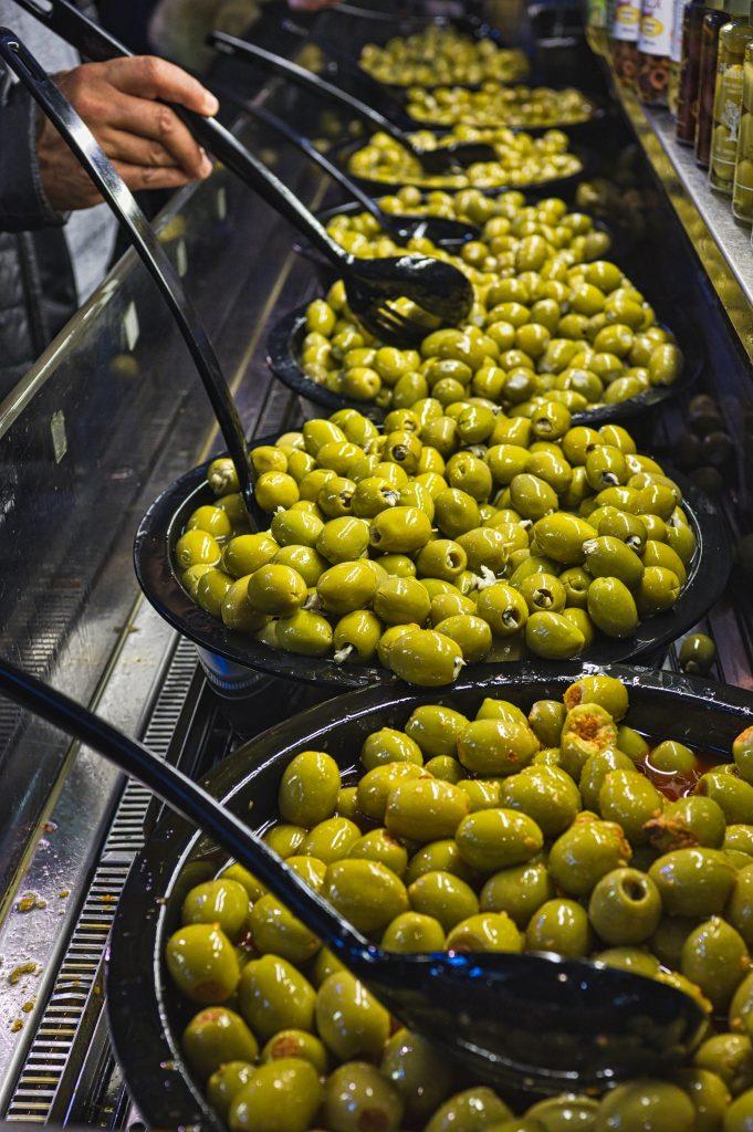 Olives have a bitter taste