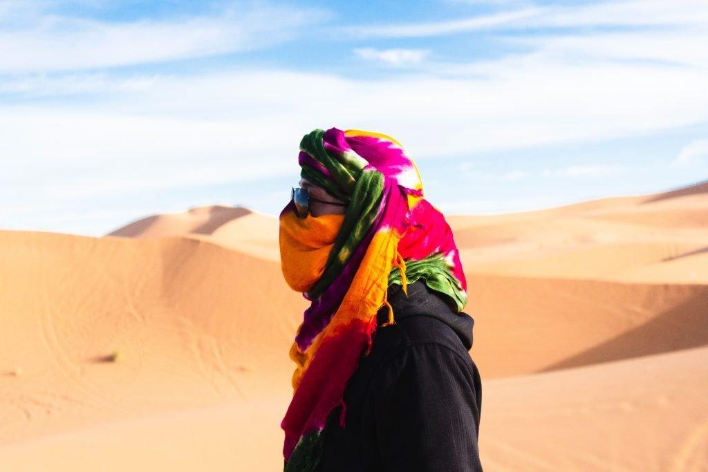Dryness in the desert
