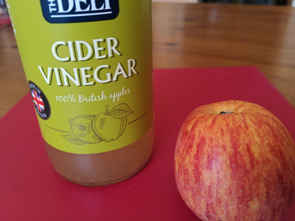 Cider vinegar for Qi stagnation