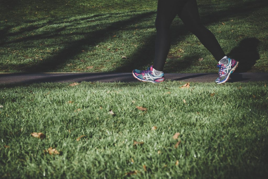 Walking - even a little as you improve - is usually good for chronic fatigue syndrome