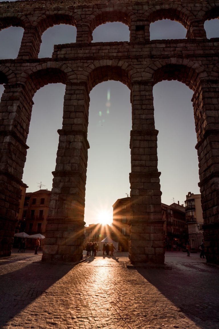 Segovia aqueduct made of blocks creating something bigger, like syndromes.