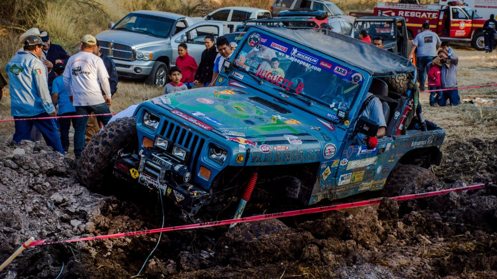 oketsu and traffic congestion from mud